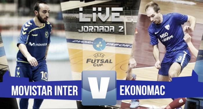 Resumen Movistar Inter 8-1 Ekonomac en UEFA Futsal Cup