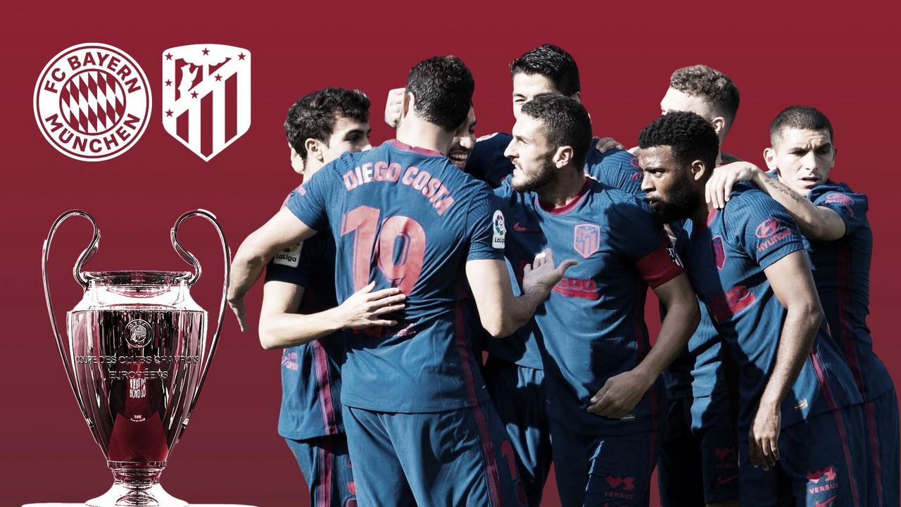 FC Bayern de Múnich vs Atlético de Madrid / Twitter: FC Bayern de Múnich