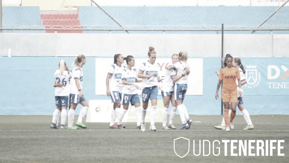 La UD Granadilla Tenerife remonta para ganar ante el Valencia CF (2-1)