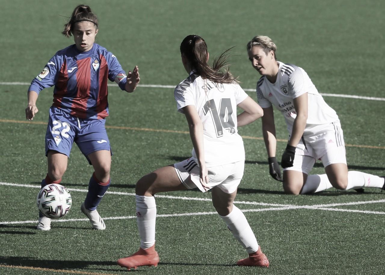 Instantánea del encuentro entre la SD Eibar Femenino y el Madrid CFF | Fuente: www.sdeibar.com