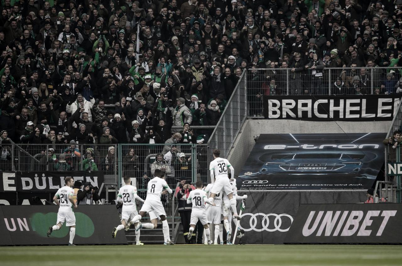 Em jogo recheado de gols, Borussia M'gladbach vence Freiburg e segue na liderança