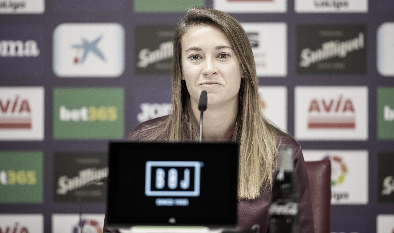 Carla Morera comparece ante los medios de comunicación | Fuente: www.sdeibar.com
