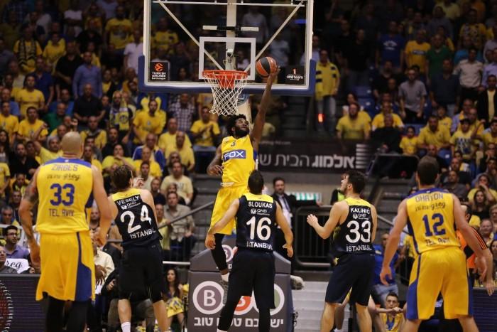 Eurolega - Colpaccio esterno del Maccabi, non basta un buon Langford per l'Unics (73-74)
