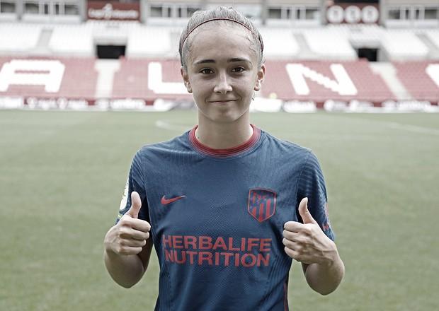 La nueva debutante en el Atlético de Madrid