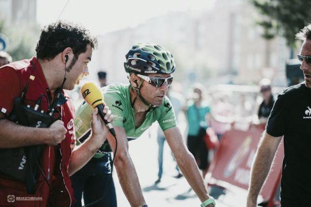 """Alejandro Valverde: """"Mañana es un puerto exigente"""""""