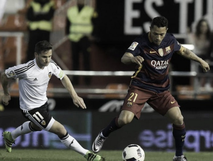 Valencia (1) 1-1 Barcelona (8): Champions off to Copa del Rey final yet again