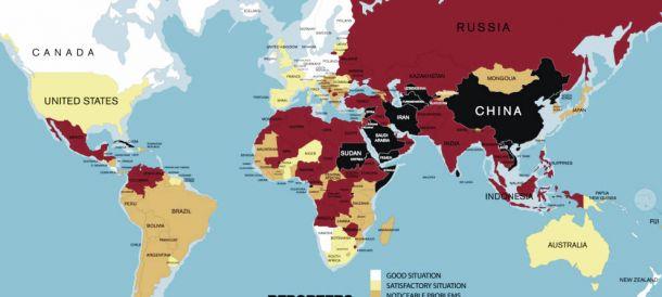 La Clasificación Mundial de la Libertad de Prensa alerta de la situación del Periodismo