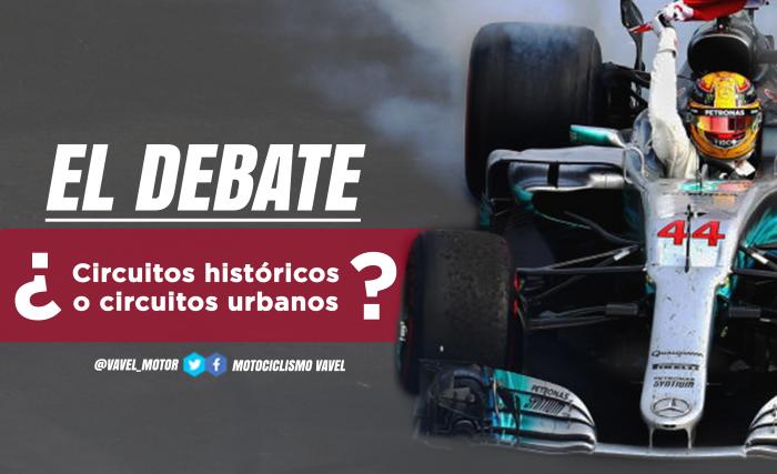 El debate: ¿circuitos históricos o circuitos urbanos?