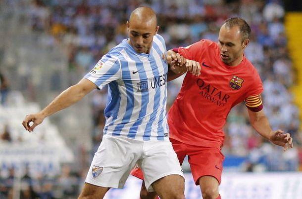 Málaga - FC Barcelona: puntuaciones del Málaga, jornada 5 de Liga BBVA
