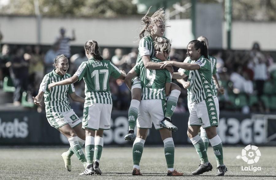 El Real Betis Féminas consigue su primera victoria en Liga