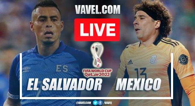 Goals and Highlights: Mexico 2-0 El Salvador in Qatar 2022 Qualifiers