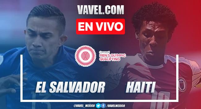 Goles y resumen de El Salvador 2-1 Haití en Preolímpico CONCACAF 2020