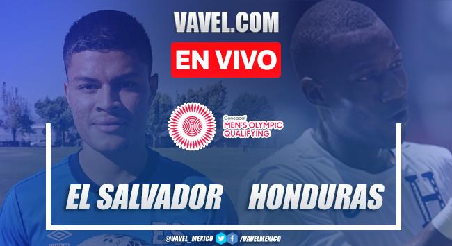 Goles y resumen: El Salvador 1-1 Honduras en Preolímpico de CONCACAF 2021