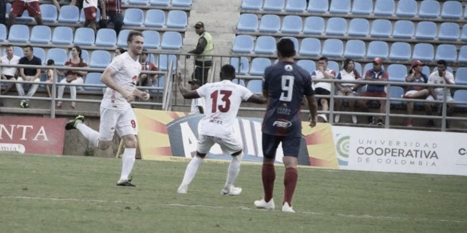 Datos de la victoria de América 0-2 en Santa Marta ante el Unión Magdalena