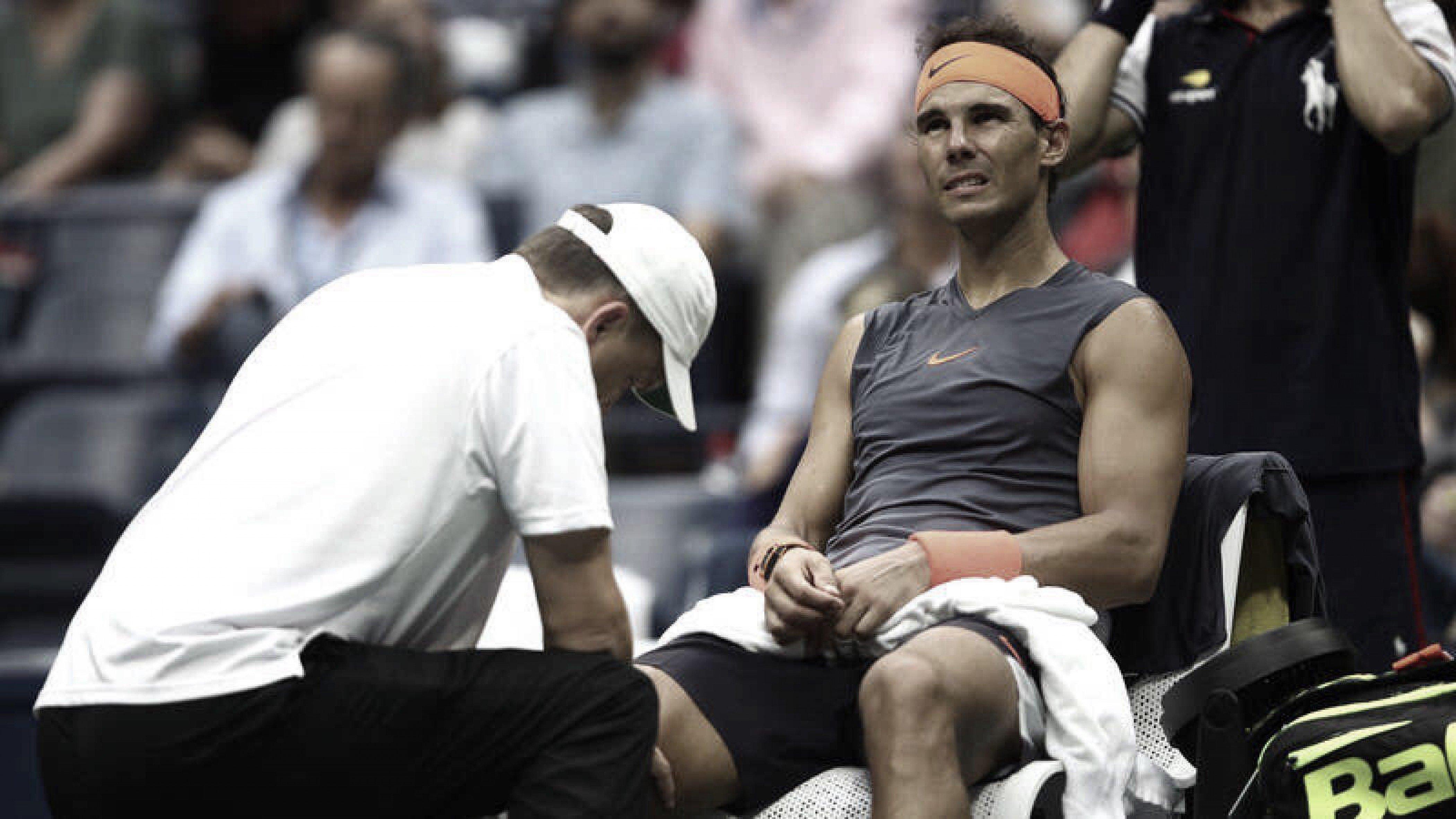 Nadal se baja de la Copa Davis por lesión