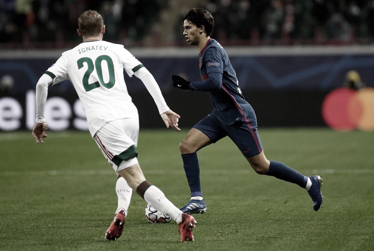 Último enfrentamiento entre ambos equipos. /Twitter: Atlético de Madrid oficial