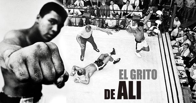 El grito de Muhammad Ali