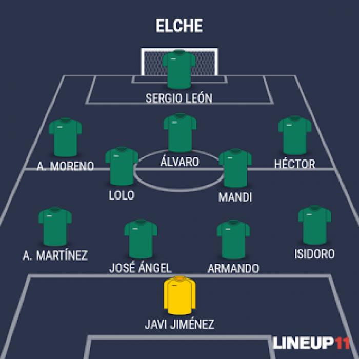 """El objetivo: el Elche del """"Pipo"""" Baraja y su 4-2-3-1"""