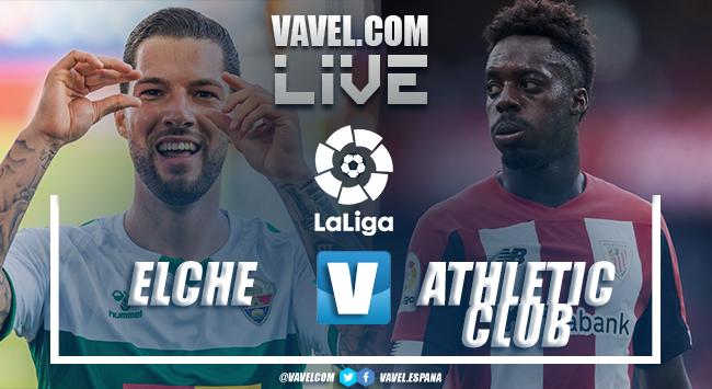 Resumen del Elche CF 0-0 Athletic Club en LaLiga Santander 2021-22