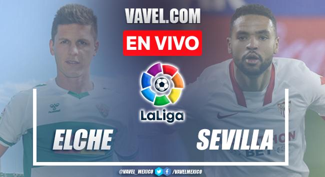 Goles y resumen del Equipo Elche 1-1 Sevilla en LaLiga 2021