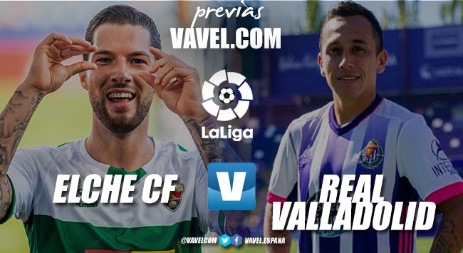 Previa Elche- Real Valladolid: un partido que vale la permanencia
