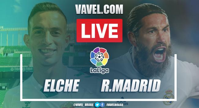 Melhores momentos de Elche x Real Madrid pela LaLiga (1-1)