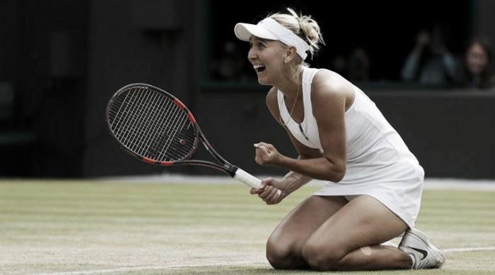 Vesnina surpreende, bate Cibulkova em sets diretos e avança à semifinal de Wimbledon