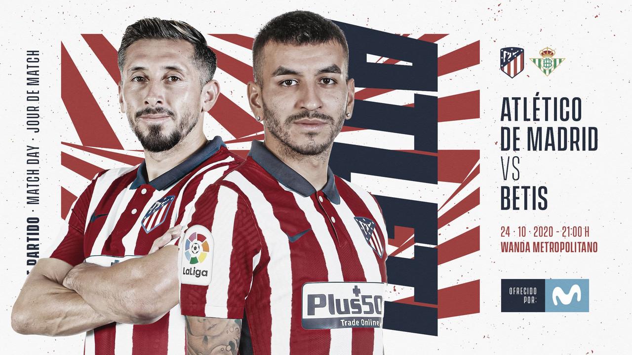 Resumen Atlético de Madrid vs Real Betis Balompié (2-0)
