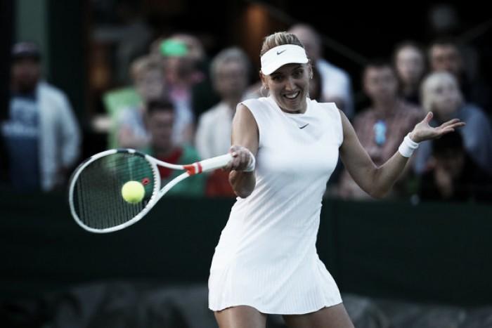 Wimbledon: 2016 semifinalist Elena Vesnina survives tough opening round