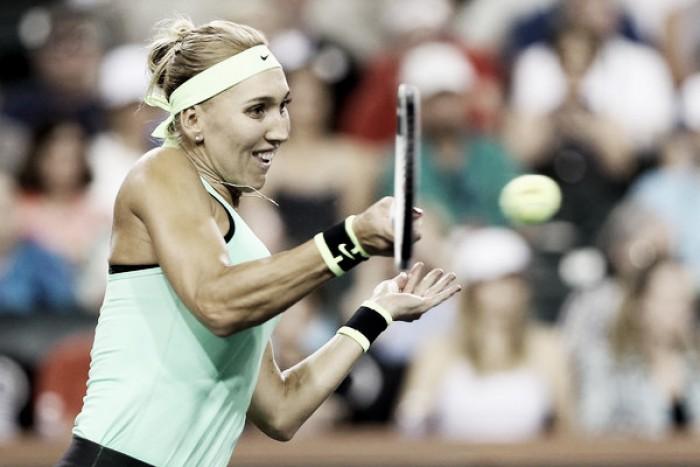French Open: Elena Vesnina survives tough challenge from Varvara Lepchenko