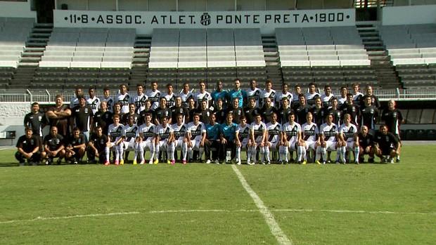 Ponte Preta esquece derrota para Palmeiras em dia de confraternização