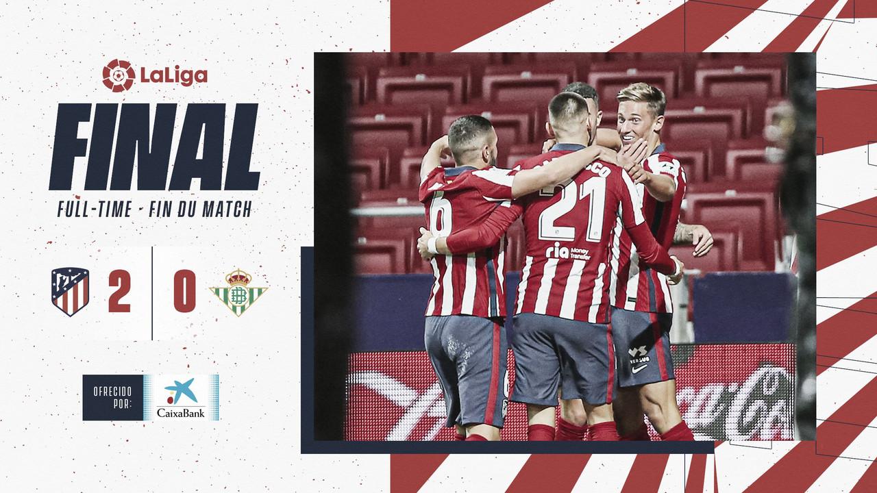 La reacción del Atlético de Madrid tiene premio