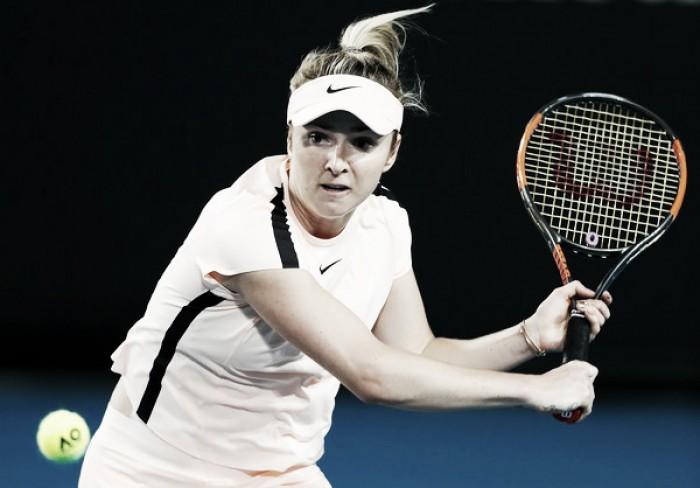 Svitolina cumple y ya está en segunda ronda