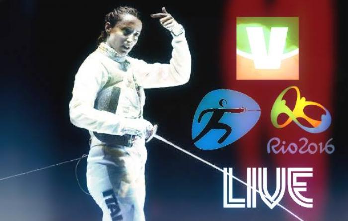 Live Rio 2016 Scherma - Elisa Di Francisca d'argento. Inna Deriglazova si impone 12-11