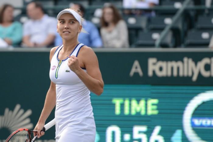 WTA Charleston: Elena Vesnina Shines In Straight Sets Victory Against Belinda Bencic