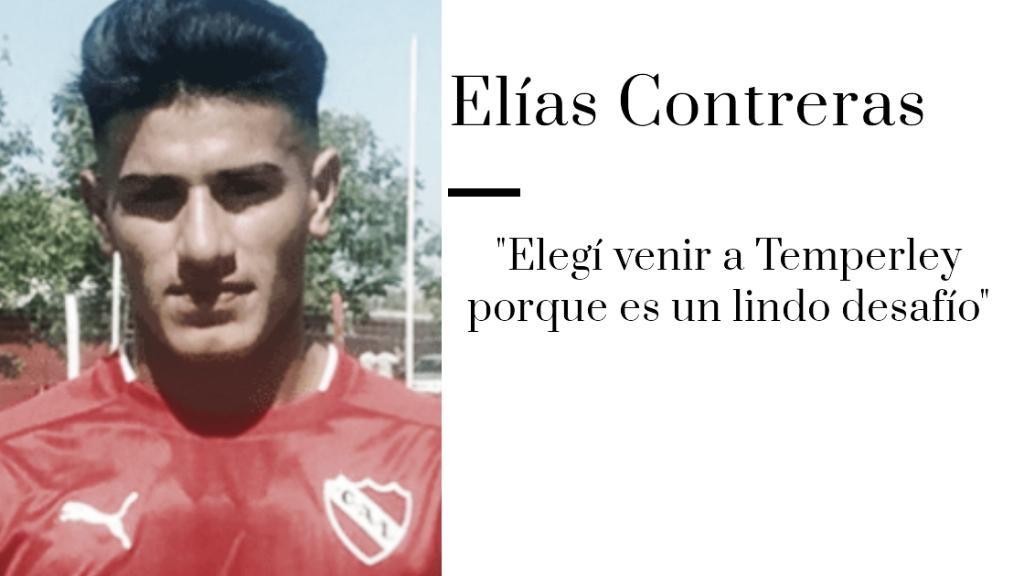 """Elías Contreras: """"Mi objetivo con el club es poder ascender"""""""