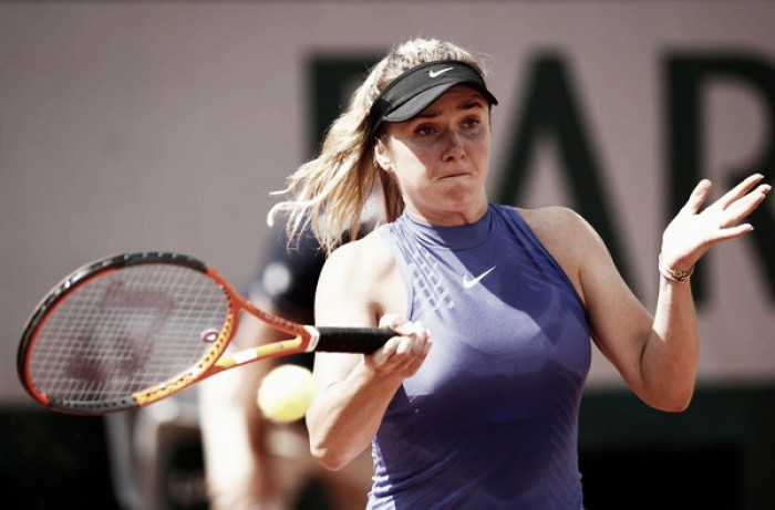 French Open: Elina Svitolina gets past tricky opening round