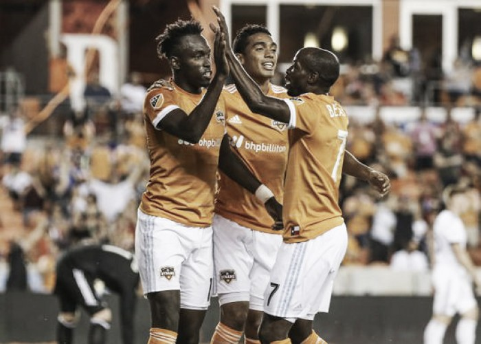 Torres scores MLS-leading 8th goal in Dynamo's 2-1 victory