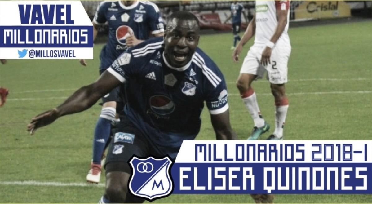 Millonarios 2018-I: Eliser Quiñones