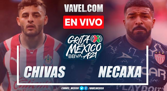 Resumen y goles: Chivas 2-1 Necaxa en Liga MX Apertura 2021
