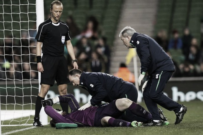 Rob Elliot to miss the rest of the season with knee injury
