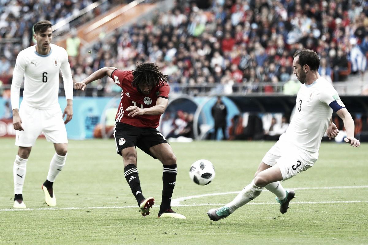 Elneny debuta con derrota ante Uruguay