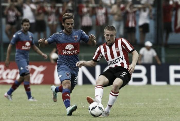 Estudiantes goleo a Tigre en Victoria