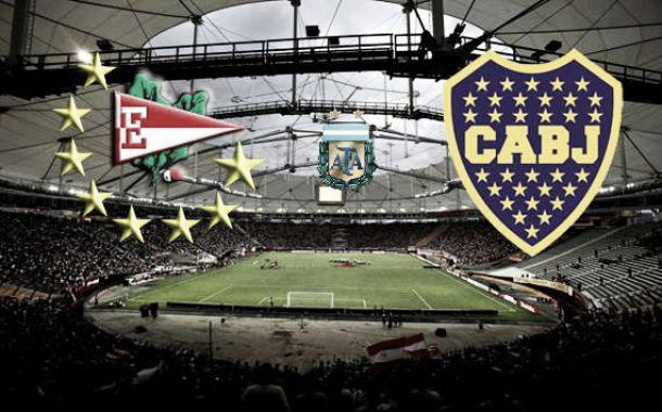 Estudiantes de La Plata vs Boca Juniors: dos que buscan enderezar el rumbo