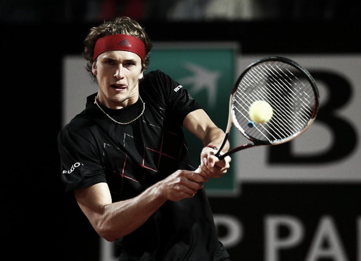 Alexander Zverev vence Matteo Berrettini e avança às oitavas do Masters 1000 de Roma