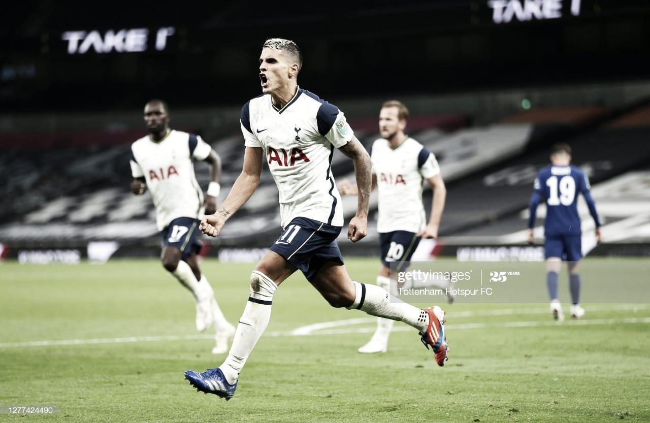Lamela dijo presente en la clasificación del Tottenham