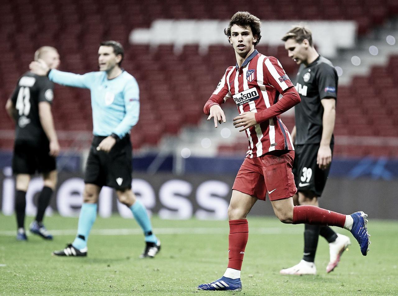 Doblete de Joao Félix / Twitter: Atlético de Madrid