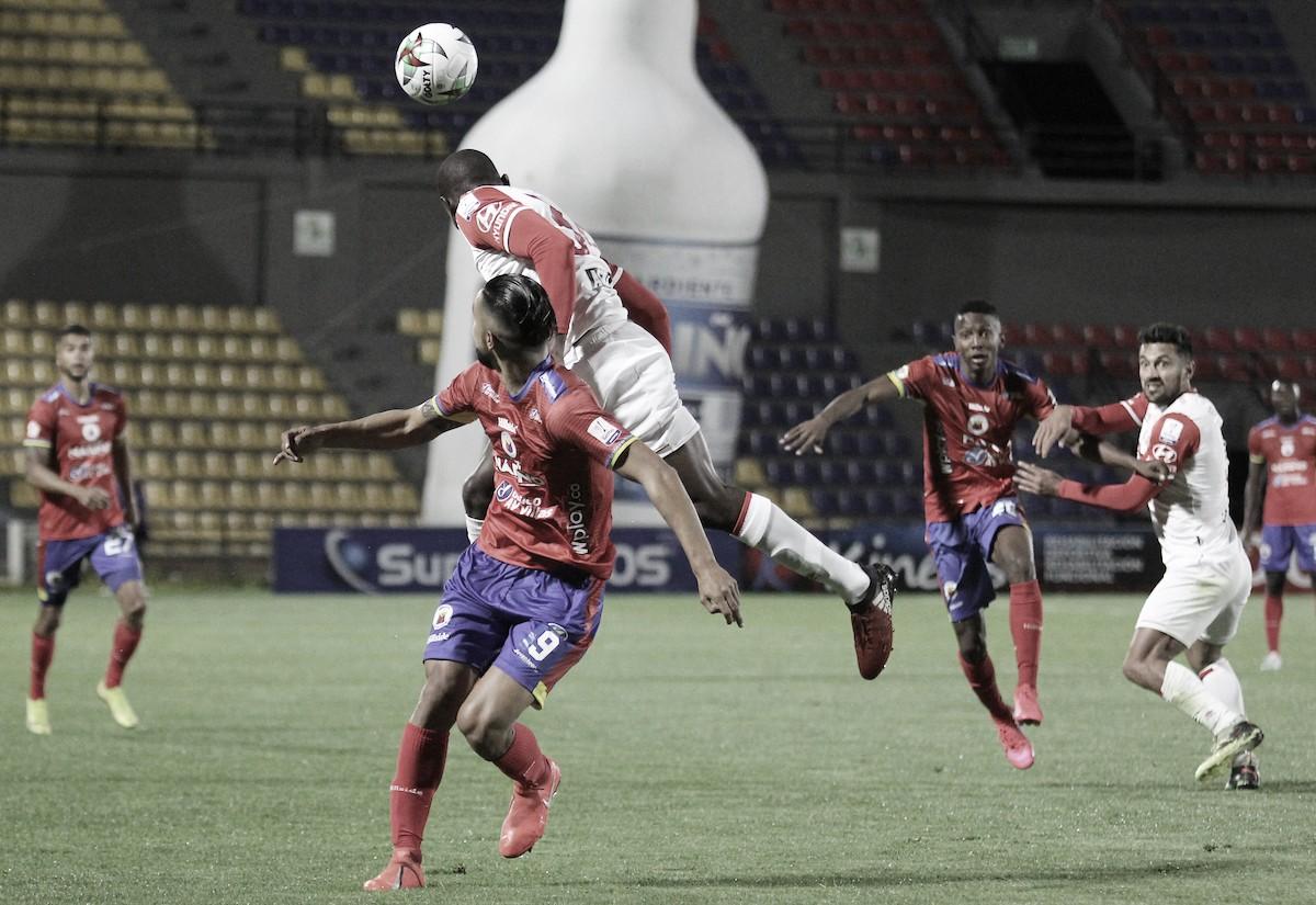 Puntuaciones de Santa Fe en el empate frente a Deportivo Pasto