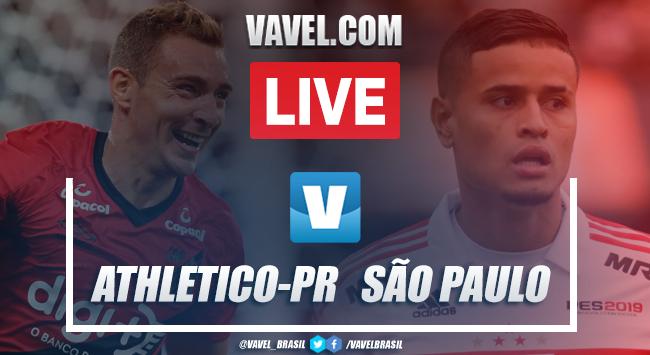 Assistir jogo Athletico-PR x São Paulo AO VIVO online pelo Campeonato Brasileiro 2019