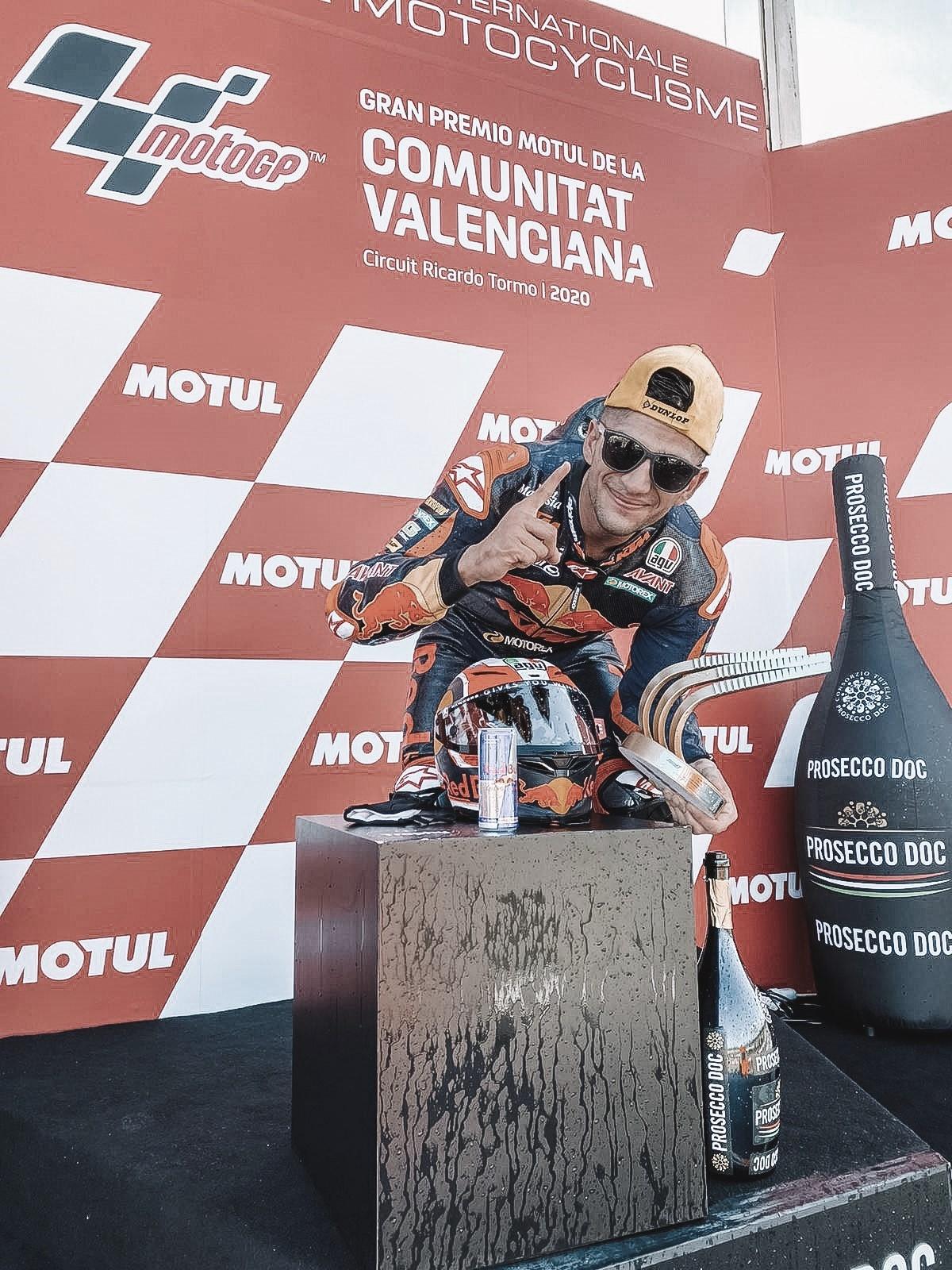 Victoria de Jorge Martín en el GP de Valencia | Fuente: Moto GP Oficial